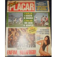 Placar Nº 991 - 1989 Botafogo Campeão Taça Rio Com Poster