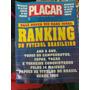Revista Placar Ranking Do Futebol Brasileiro 1076 10/92