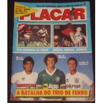 Revista Placar Nº 895 - Jul/1987 - Pôster Grêmio E São Paulo