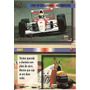 3025 - Card Ayrton Senna - Multi Editora - Nº 25 - Complete