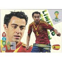 Xavi Hernandez Adrenalyn Xl Limited Edition Copa 2014 Panini