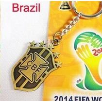 Chaveiro Copa Mundo 2014 Seleção Brasil - Poucas Unidades
