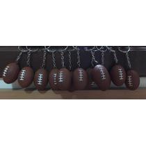Kit 12 Chaveiros Mini Bola Futebal Amaricano