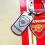 Promoção Chaveiro De Metal Time Futebol Arsenal + Brinde