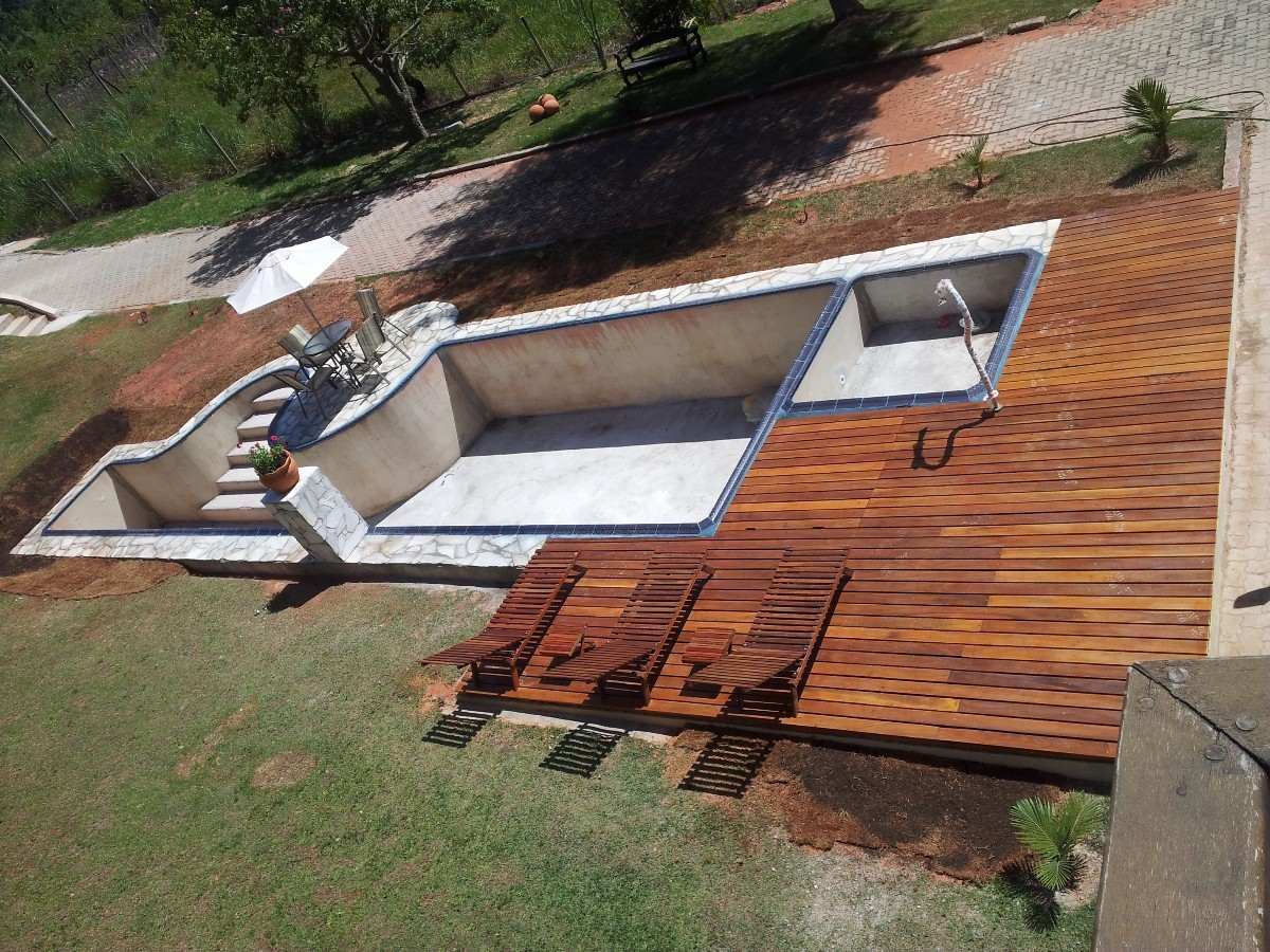 espreguiçadeira cadeira piscina / varanda / praia #935E38 1200x900