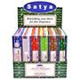 Incensos Satya (nag Champa) Monte Sua Caixa C/ Até 12 Aromas