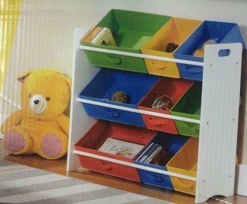Estantes Para Quarto De Brinquedos ~ Estante Organizador De Quarto , Brinquedos, Porta Trecos  R$ 195,99