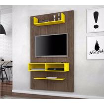Painel Para Tv De 42 Polegadas 5001 Teka/ Amarelo- Movz