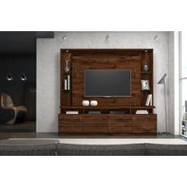 Home Bancada Painel Suspenso Tv 55 Polegadas Dj Móveis