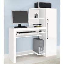 Escrivaninha, Mesa Para Computador - Branca