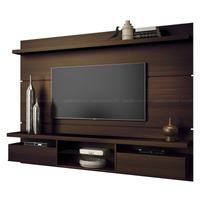 Painel Home Theater Suspenso Livin 2.2 Mocaccino Hb Móveis