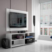 Rack Com Painel Para Tv Branco Br 261-06 Em Mdp