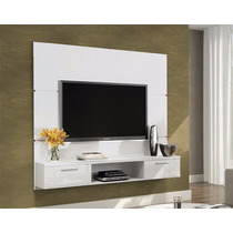 Painel Para Tv De Até 55 Flat Branco - Hb Móveis