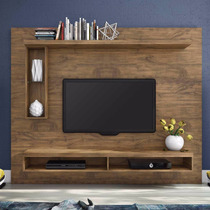Rack Home Bancada Suspenso Painel P/ Tv 2,2m P/tv 60 100%mdf