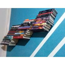 Prateleira Invisível Para Livros, Revistas E Enciclopédia