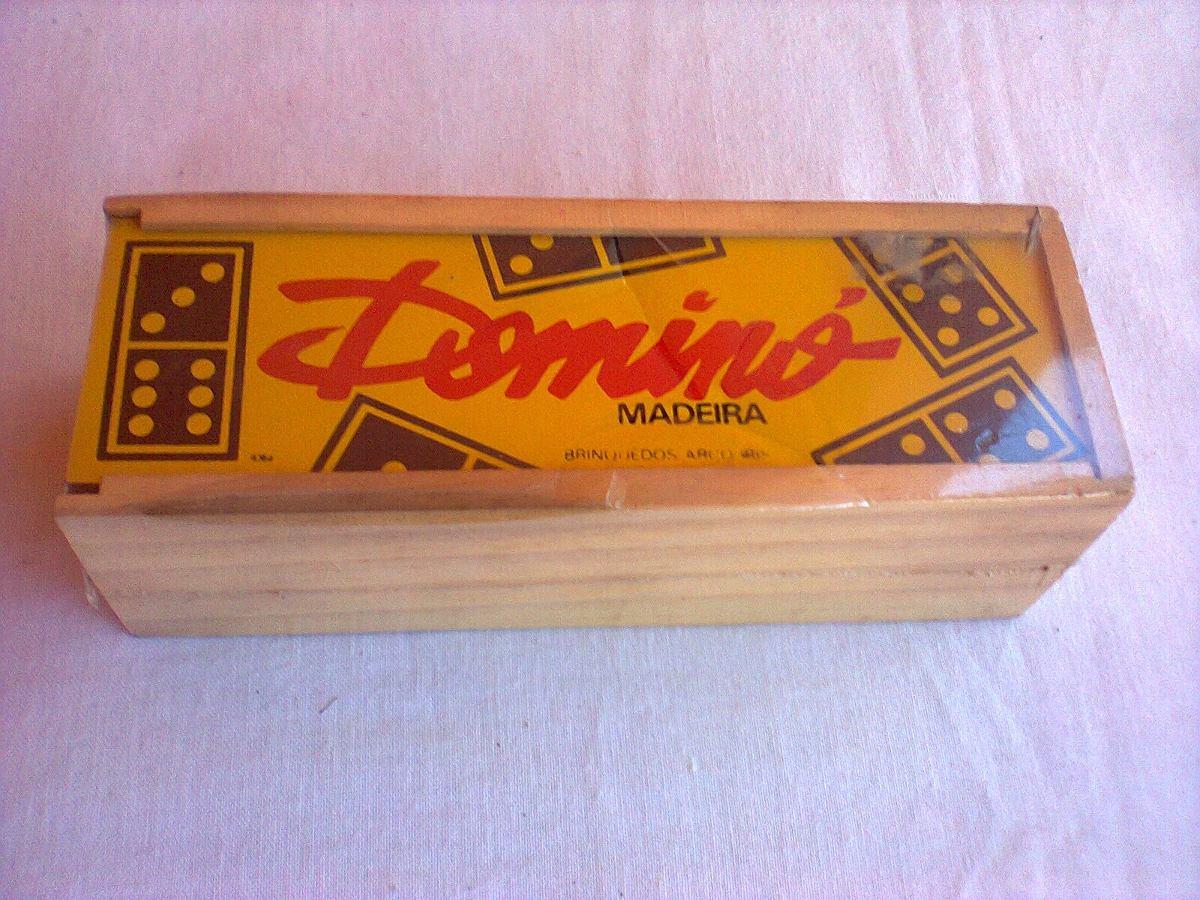 Estojo De Madeira De Domino R$ 120 00 no MercadoLivre #BA2911 1200x900