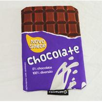 Estojo Necessaire Barra De Chocolate Nestle Lacta Bis Lápis