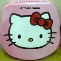 Estojo 72 Itens Maleta Material Escolar Infantil Hello Kitty