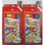 Lápis Cor Faber Castell 24 Cores Aquarelavel Pronta Entrega
