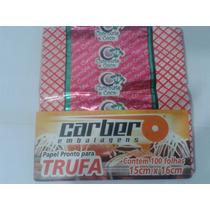 Embalagens De Trufa Sabor Chocolate E Coco