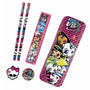 Estojo Skull Set Monster High 6 Pcs