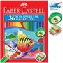 Lapis De Cor 36 Cores Aquarelavel Faber Castell