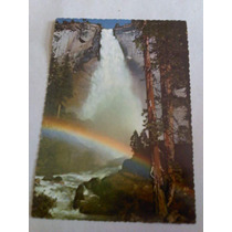 Cartão Postal - Cachoeira Park Yosemite Nevada Caliórnia