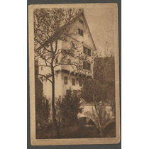 Postal Alemanha Rothenburg 1938, Circulado P/ Usa