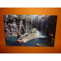 Cartão Postal Disneyland, Submarine Falls .