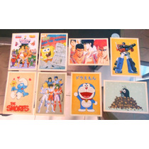 Lote C 8 Cartões Postal Desenhos Animes, He-man, Bob Esponja
