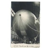Cartão Postal 1928 Graf Zeppelin Lz 127 Original Alemanha