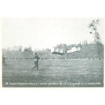 França M. Santos-dumont 14 Bis 1906 Não Circulado Cp361