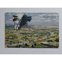 Alemanha Postal Zeppelin Circulado Dec. 30