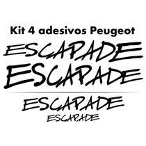 Adesivos Tuning Peugeot Sw Escapade 206 207 Frete Gratuito