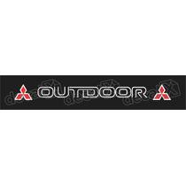 Adesivo Para Parabrisa L200 Outdoor - Decalx