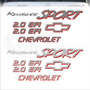 Kit Adesivos Chevrolet Kadett Sport 2.0 Efi