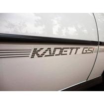 Gm Kadett Gsi 2.0 Kit Completo De Adesivos E Faixas Laterais