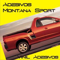 Kit De Adesivos Faixas Laterais Montana