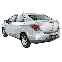 Kit Friso Cromado Base Da Janelas Chevrolet Prisma 2013/
