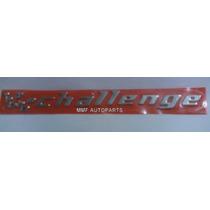 Emblema Challenge Para Vectra Challenge - Mmf Auto Parts