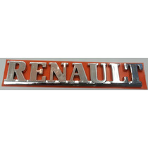 Emblema Renault Cromado Mala Mégane Scénic Clio E Etc