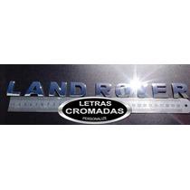 Emblema Land Rover Cromados De 3cm Com Adesivo 3m