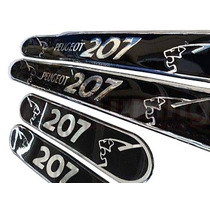 Jgo Soleiras Resinadas Leao Peugeot 207 Frete Gratis