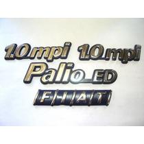 Kit Emblemas Palio Ed + 2x 1.0 Mpi + Fiat Mala 96/99 - Bre