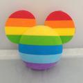 Bolinha Topper P/ Antena De Carro - Mickey Rainbow