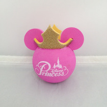 Bolinha Topper P/ Antena De Carro - Minnie Princess Gold