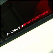 Adesivo Racing Go Further Fiat Uno Palio Bravo Punto 500