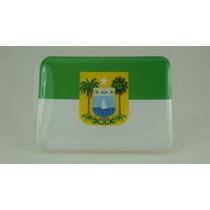 Bandeira Bandeirinha Resinada Do Rio Grande Do Norte Adesivo