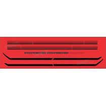 Kit Adesivos Passat Gts Pointer Vermelho - Decalx