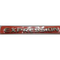 Emblema Expression- Vectra Meriva E Zafira- Gm- Chevrolet